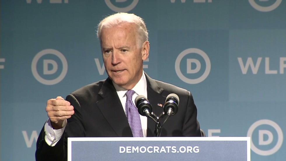Biden: Never is it the woman's fault  - CNN Video