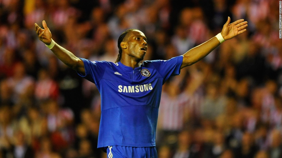 "<strong>June 2009:</strong> Didier Drogba received a six-match ban (with two matches suspended) following Chelsea's loss to Barcelona in the second leg of the Champions League semifinals in June 2009. The Ivorian was incensed that referee Tom Henning Ovrebo had rejected Chelsea pleas for several penalties. Frustration boiled over as Drogba uttered the words ""it's a f***ing disgrace"" into a passing TV camera lens."