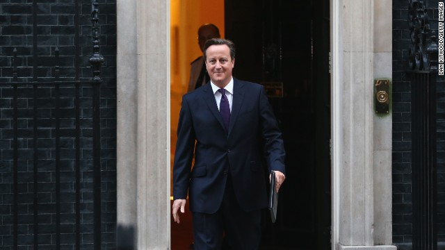 Cameron 'delighted' with Scotland vote
