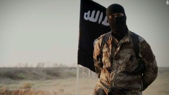 North American featured in ISIS video?