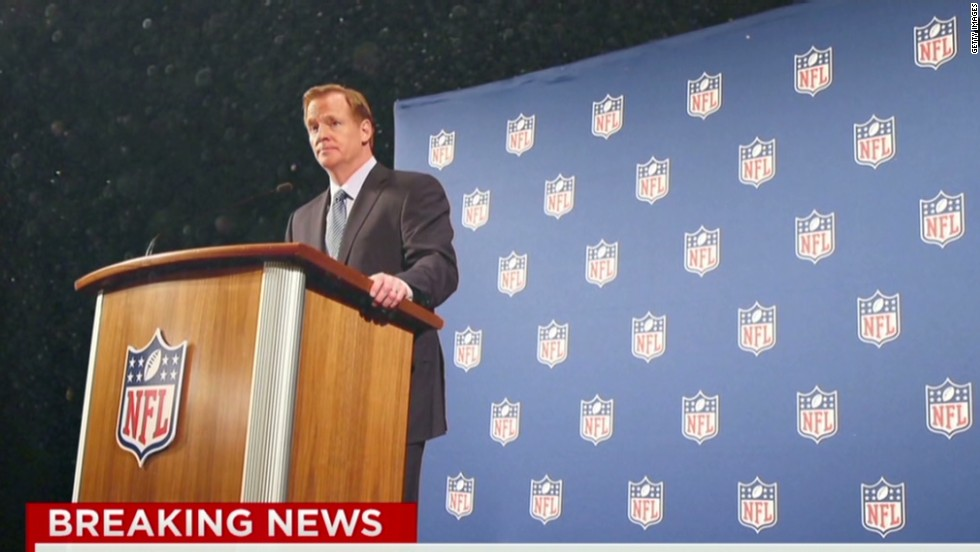 NFL's Goodell: 'We'll get our house in order'