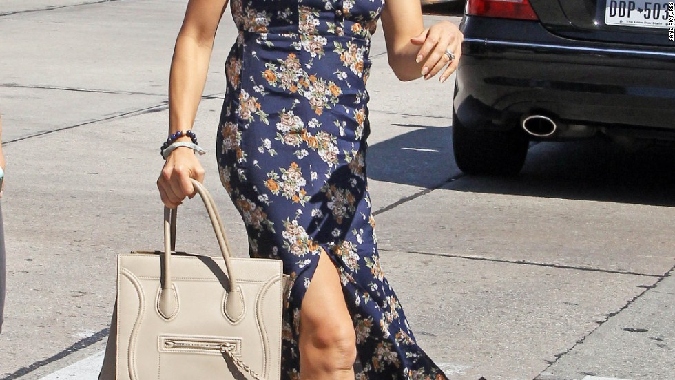 Jenna Dewan-Tatum shows a hint of leg while out on September 19.