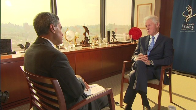Bill Clinton on U.S. response to ISIS