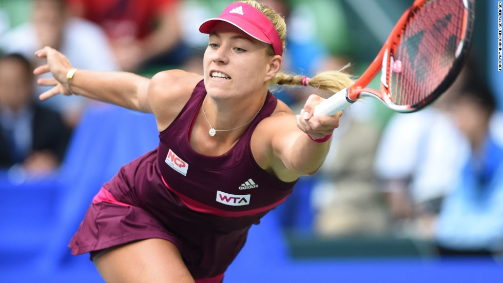 The Serbian beat top seed Angelique Kerber of Germany -- last year's runner-up -- as she matched her best effort of 51 match wins in a season, also achieved in 2007.