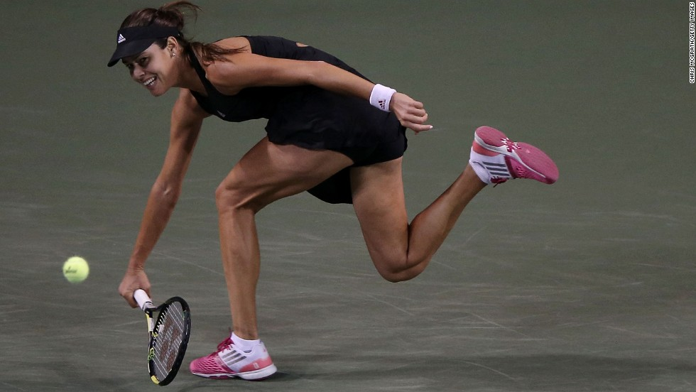 The Dane will next play fellow former world No. 1 Ana Ivanovic, who was a losing finalist in Tokyo in 2007.