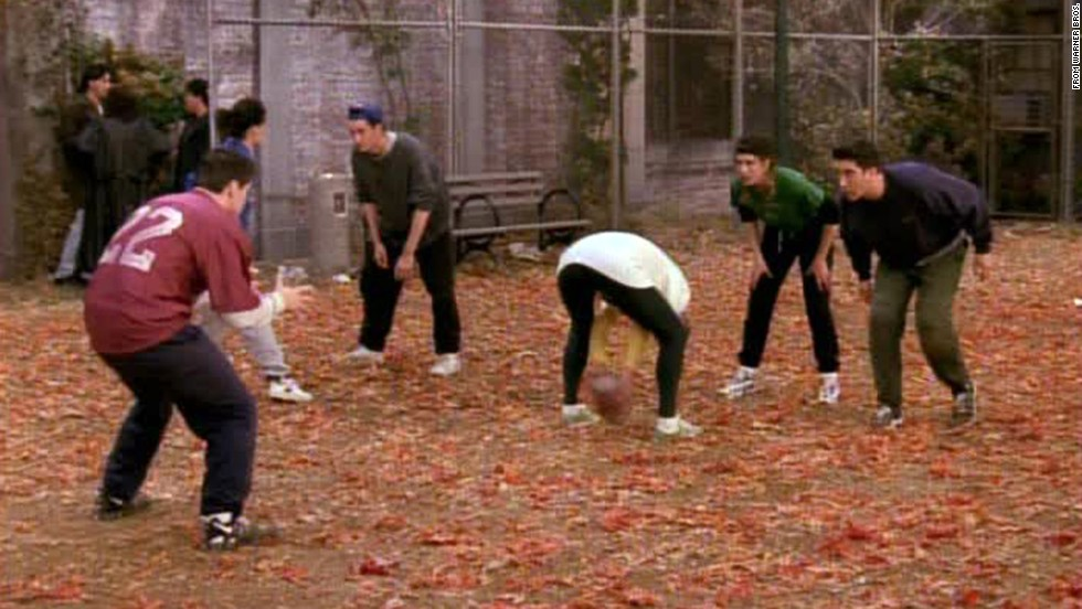 "<strong>""The One with the Football:""</strong> ""Friends"" Thanksgiving episodes are always among the best of the series, and this season 3 episode is a standout. As proven in season 1, anytime you get this competitive group together and introduce a game, you're going to get classic moments."