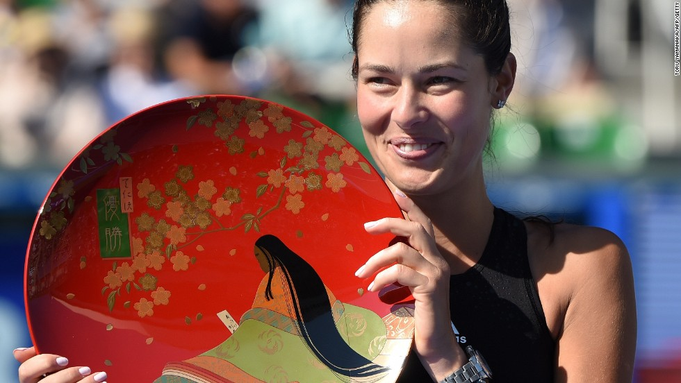 Ana Ivanovic continues revival with fourth title of 2014