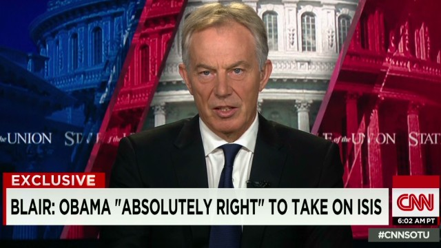 Tony Blair: Obama is 'absolutely right'