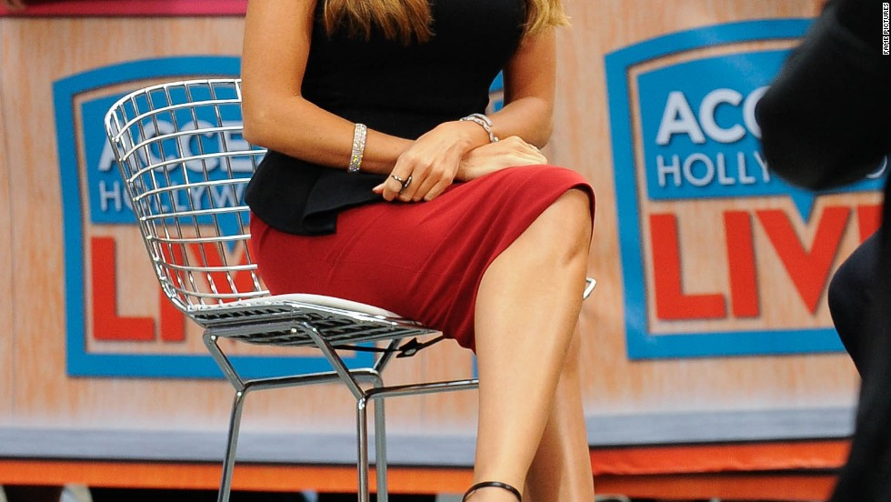 "Sofia Vergara's sitting pretty for an interview with ""Access Hollywood"" on September 22."