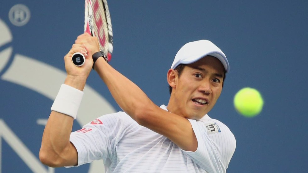 Nishikori advances, rival retires in the 5th set:The Asahi Shimbun