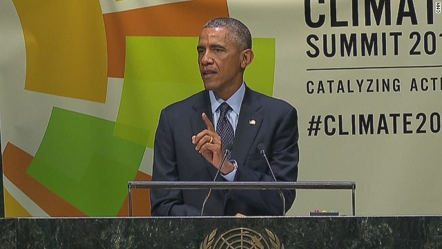 Obama: No nation immune to climate change