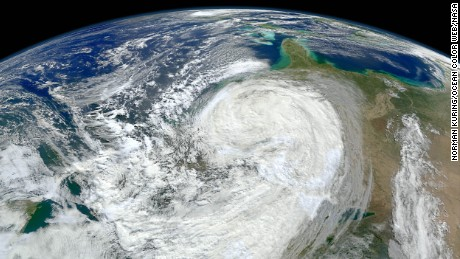 Hurricanes - Superstorm Sandy in 2012