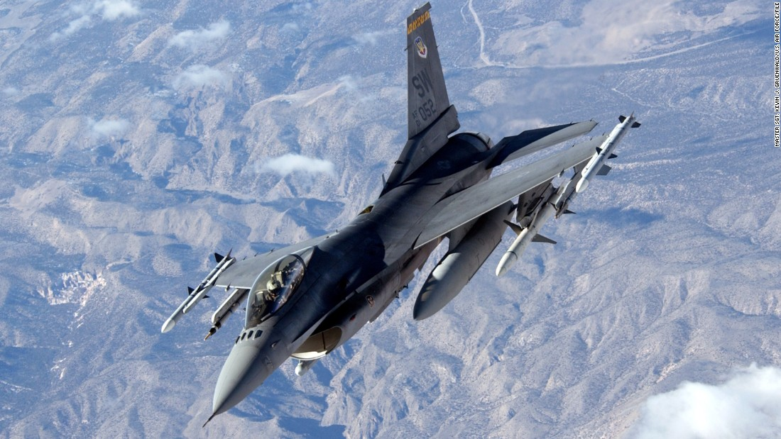 The single-engine jet is a mainstay of the Air Force combat fleet. It can perform both air-to-air and air-to-ground missions with its 20mm cannon and ability to carry missiles and bombs on external pods. More than 1,000 F-16s are in the Air Force inventory.