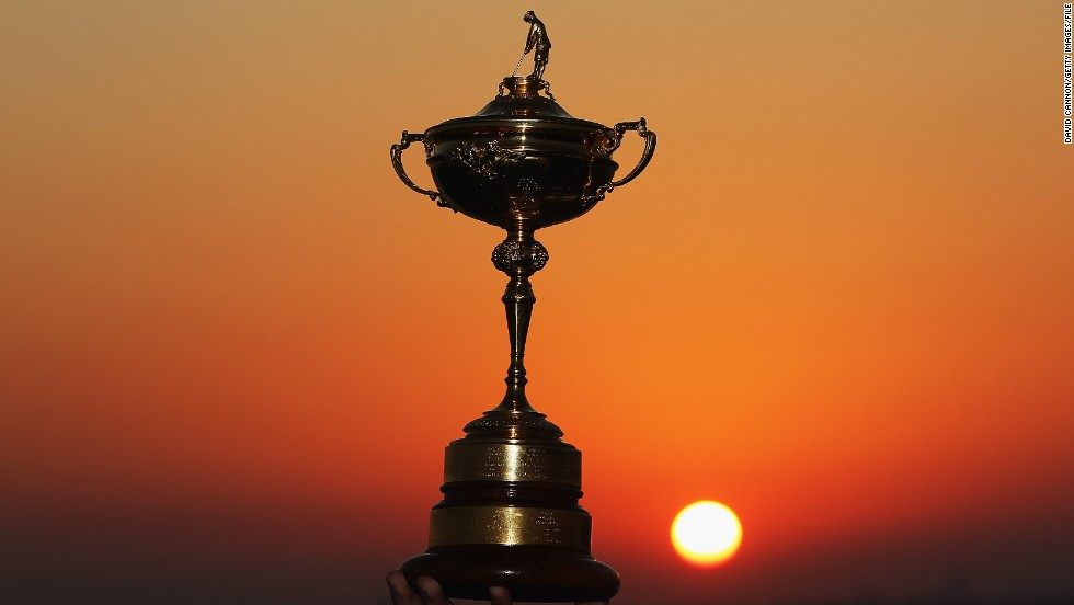 This is what the two teams are hoping to take home. The trophy itself was donated by English businessman Samuel Ryder, who helped create the competition in the 1920s.