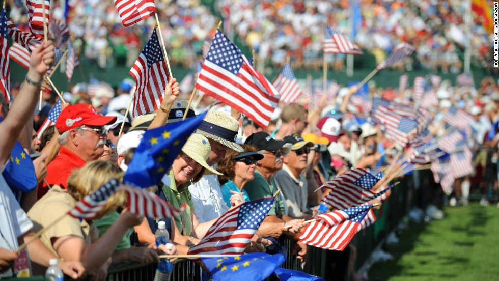 Team USA last triumphed in 2008, when Paul Azinger's men triumphed 16½ - 11½ at Valhalla Golf Club in Kentucky.