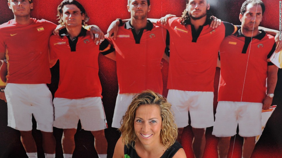 Gala Leon Garcia was appointed captain of Spain's Davis Cup team by the Spanish Tennis Federation (STF).