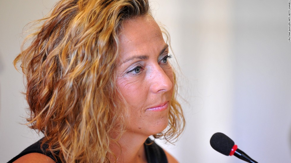 Garcia is the fifth female captain of a Davis Cup team, according to the International Tennis Federation.