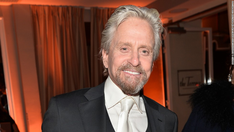Actor Michael Douglas celebrated his 70th milestone on September 25, 2014.