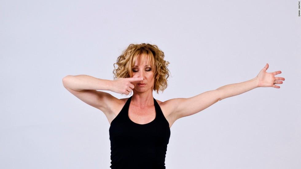 Warrior pose yoga 1 2 3