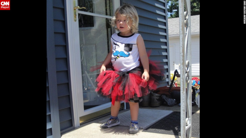 """My son is only 3 years old, so a lot of people say I need to 'teach him how to be a boy,' "" says <a href=""http://ireport.cnn.com/docs/DOC-1166047"">Tempest Rose</a>. ""I say patooie."" Her son, Spencer Draven Ingram, likes wearing a tutu sometimes. While that's OK at home, Rose worries about when he gets older. ""I am terrified for his school years because I know kids will pick on him. I think something needs to be done about what we're teaching our children."""