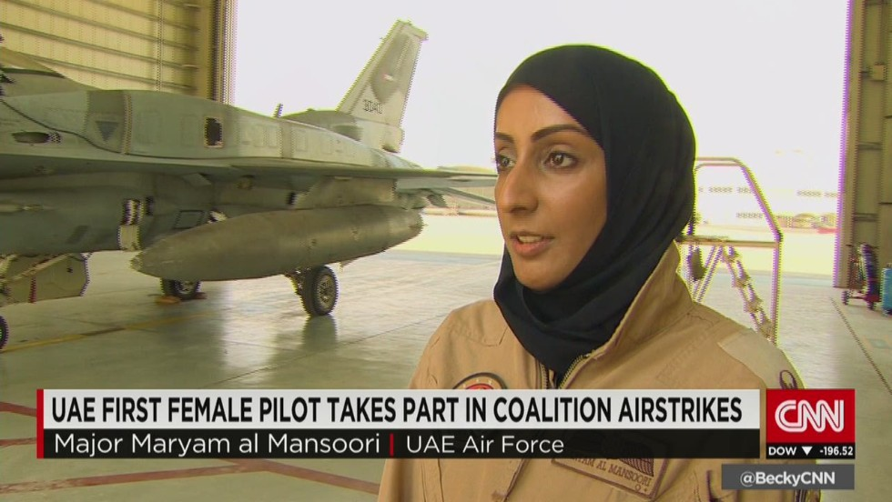 First female fighter pilot in UAE
