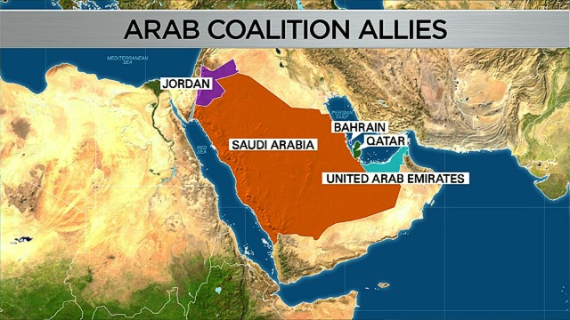 Report: Saudis help crucial to coalition