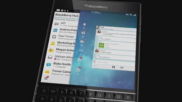 Blackberry: Hip to be Square?