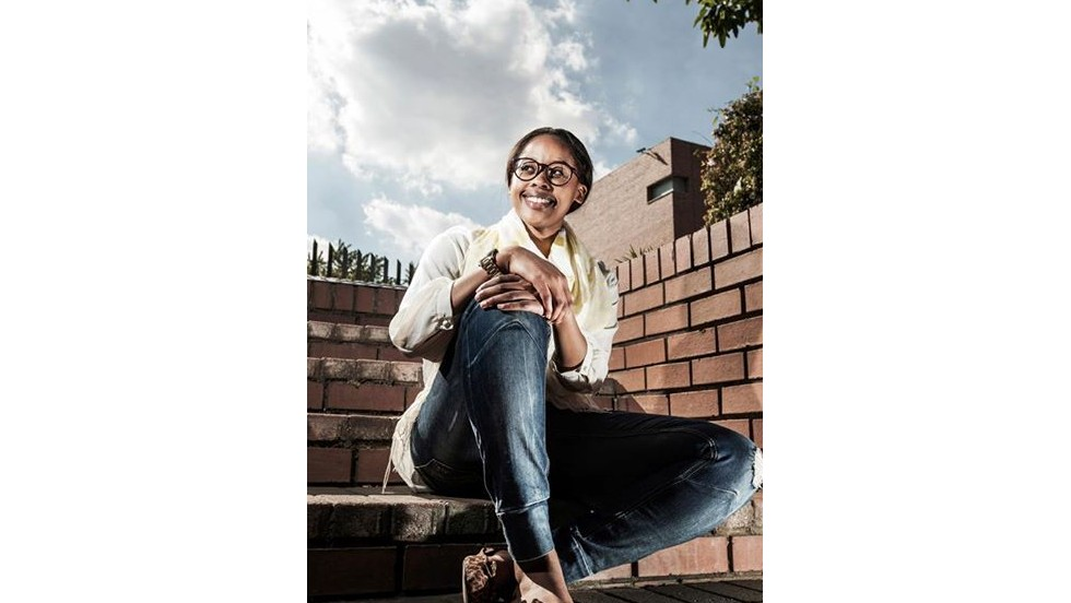 First runner up Thato Kgatlhanye is the founder of  Repurpose Schoolbags, a company making environmental-friendly schoolbags. Made from up-cycled plastic shopping bags, Kgatlhanye's creations integrate solar technology that charges during the day to provide light for pupils studying after dark.