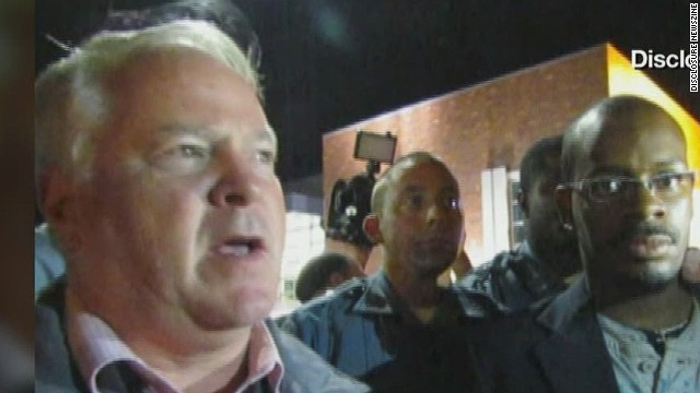 Ferguson police chief's apology scorned