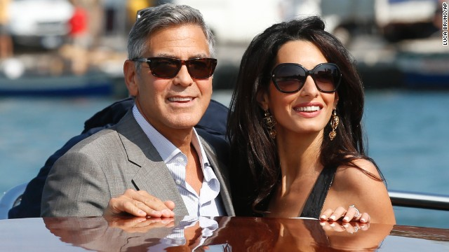 George Clooney's 'fairy tale' wedding