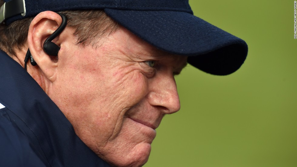 Tom Watson's demeanour rarely changes, but the U.S. captain must be concerned that the 10-6 deficit may be too much for his team to overhaul in Sunday's singles. Europe need just four points from a possible 12 on offer to retain the Ryder Cup.