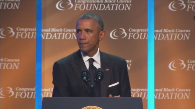Obama addresses Michael Brown killing