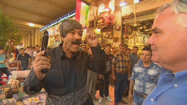 Irbil citizen: 'We will fight to death'