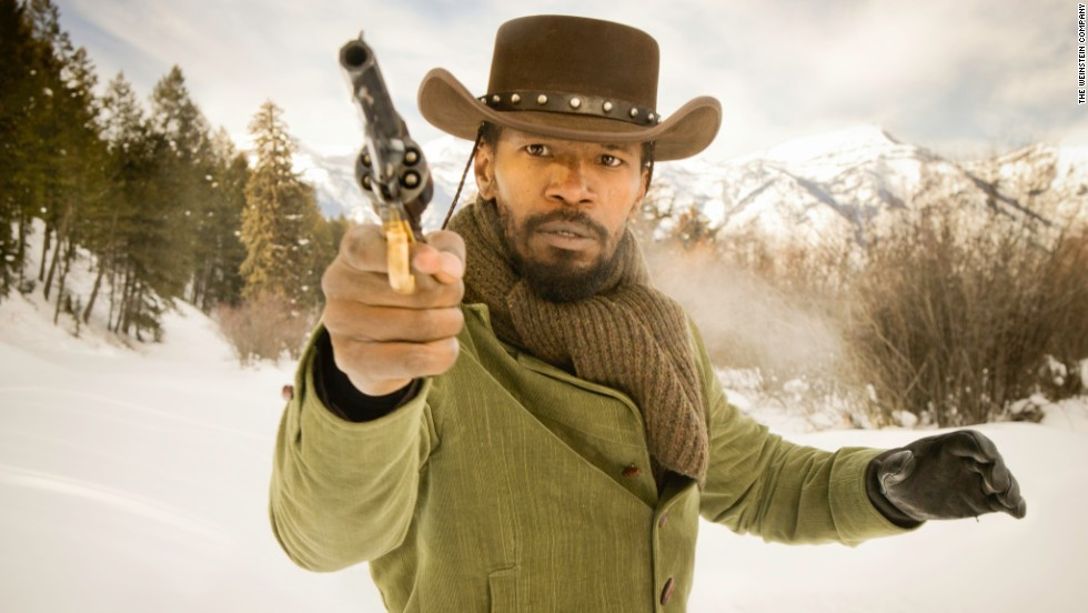 "Quentin Tarantino's 2012 film ""Django Unchained,"" about former slave Django (Jamie Foxx) and a bounty hunter (Christoph Waltz) going to a plantation to rescue Django's wife, was shot in the West -- hence the snow and mountains -- and at <a href=""http://evergreenplantation.org/"" target=""_blank"">Evergreen Plantation</a> on the River Road north of New Orleans. Some interiors were shot at a soundstage in the Crescent City."