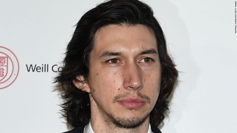Adam Driver attends a benefit on October 1 in New York City.