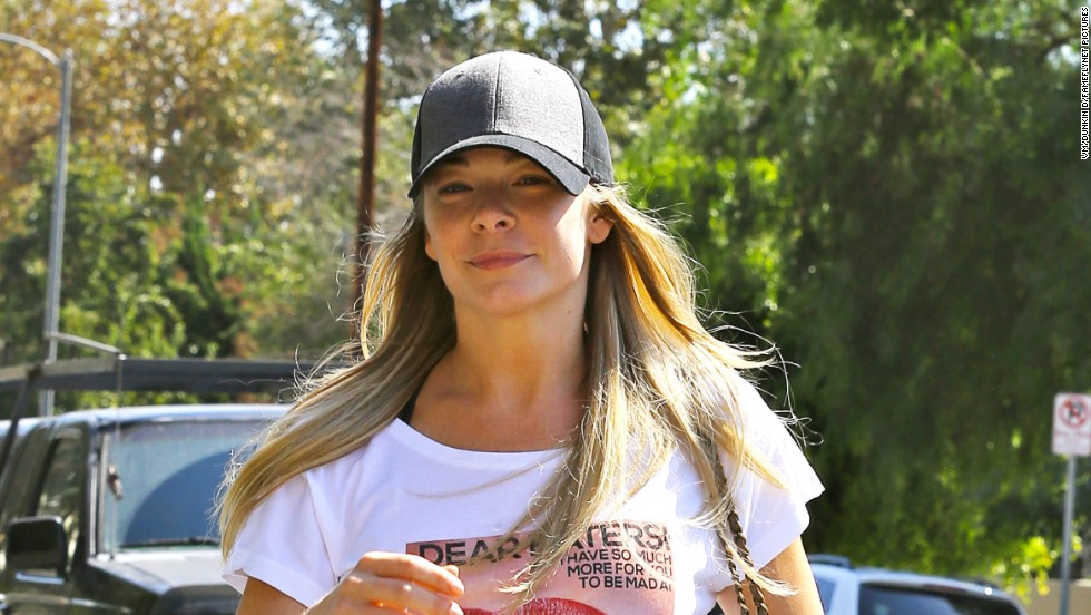 LeAnn Rimes has a message for the haters while heading to a Pilates class in Studio City, California on October 1.