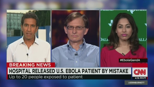 Medical experts answers Ebola questions