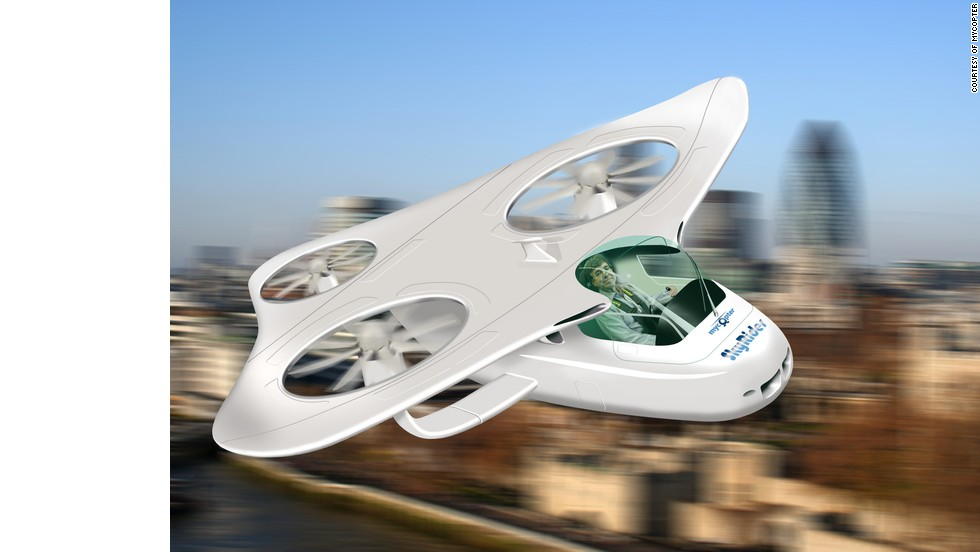 Finally, a flying car for everybody? It's the idiot-proof aerial commuter