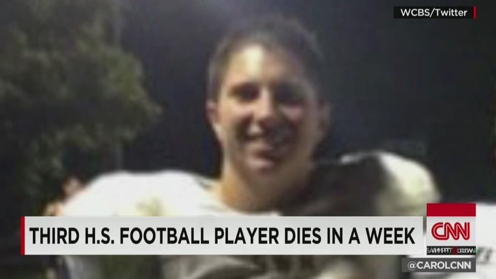 Three high school players die in a week - CNN Video