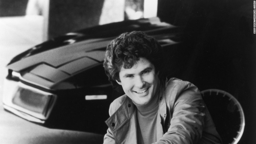 Hollywood also anticipated buddy relationships with assistants in the hit TV series 'Knight Rider'.