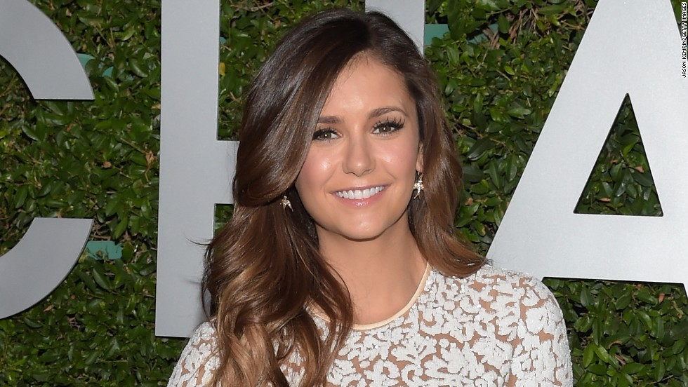 Nina Dobrev attends an event on October 2 in Beverly Hills, California.