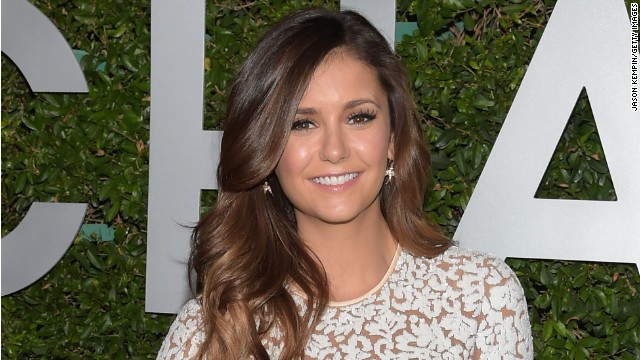 "Nina Dobrev stars as Elena Gilbert on ""The Vampire Diaries."""