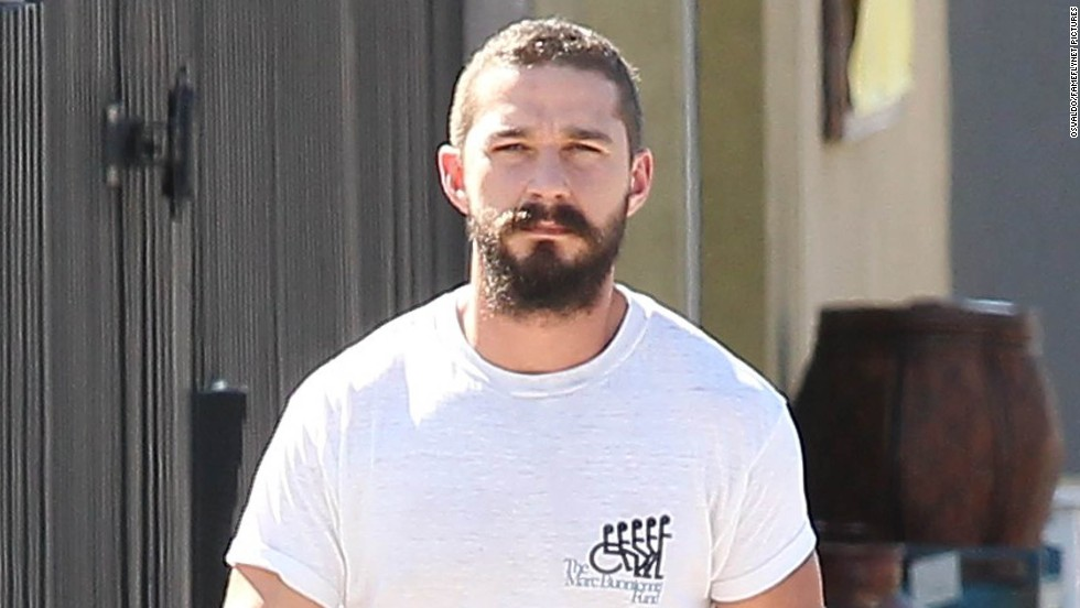 Shia LaBeouf heads to the gym for a workout in Los Angeles, California on October 3.