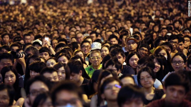 Generational gap in Hong Kong protests