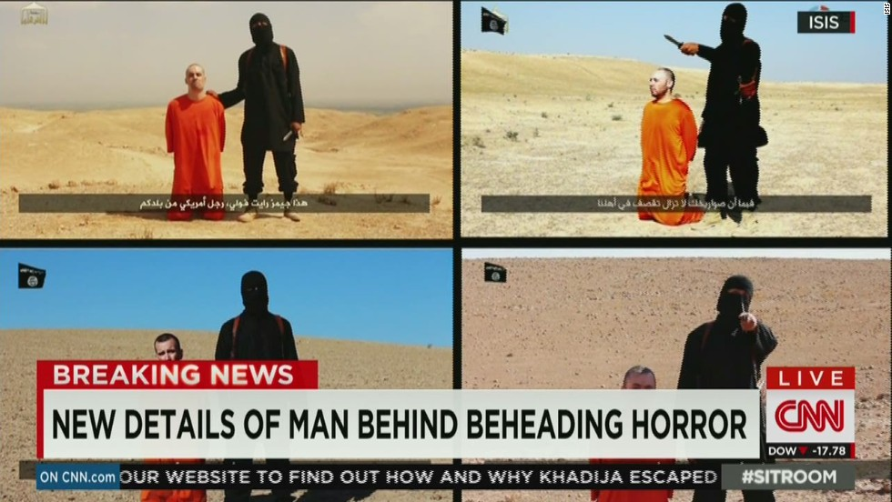 The hunt for man in ISIS beheading video