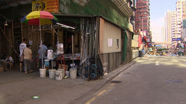 HK protests hurting small businesses