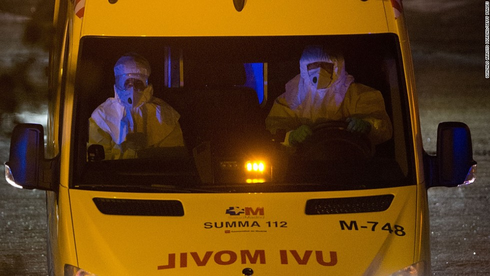 Hospital worker: Spaniard exposed in ER for 8 hours after positive Ebola test