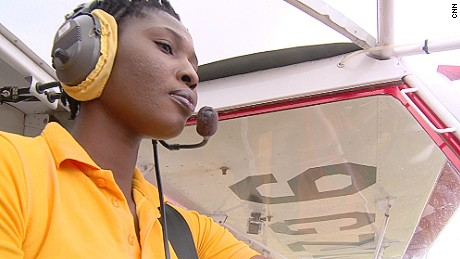 Women with wings: Female pilots making history