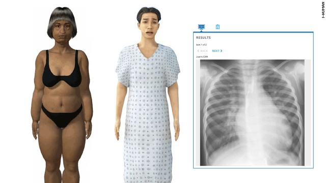 i-Human's interactive virtual patients are used by medical schools to train doctors how to diagnosis illnesses.