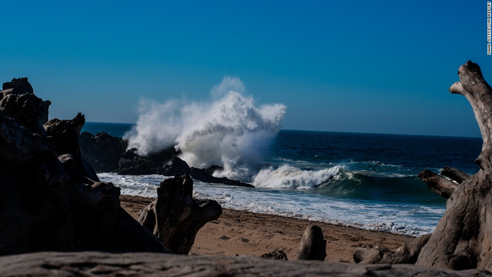 "Waves crash ashore at <a href=""http://ireport.cnn.com/docs/DOC-842085"">Point Mugu State Park</a>, located in the Santa Monica Mountains. This <a href=""http://www.parks.ca.gov/?page_id=630"" target=""_blank"">California park</a> features typical beach activities like swimming but also offers body surfing and surf fishing."
